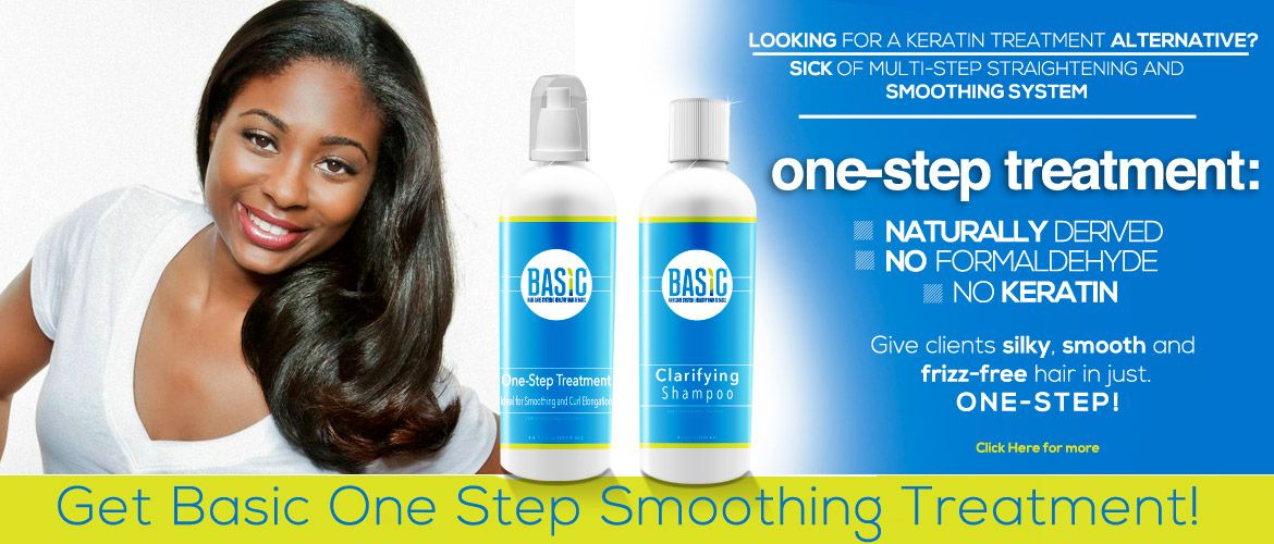 Basic Hair Care One Step Smoothing System Allows your