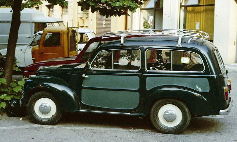 Fiat Topolino Estate Fiat 500 Topolino