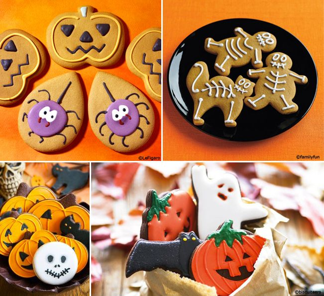 Les biscuits d'Halloween  http://mygiftsandyou.com/blog/biscuits-halloween/