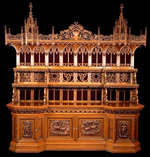 Gothic Victorian Furniture 5 revival furniture styles popular in the victorian era | gothic