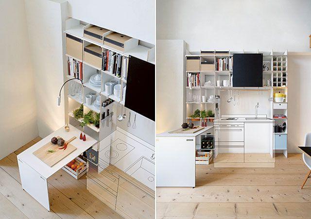Aus dem FNP Regalsystems lässt sich mittels Überbau und einigen - sofa für küche
