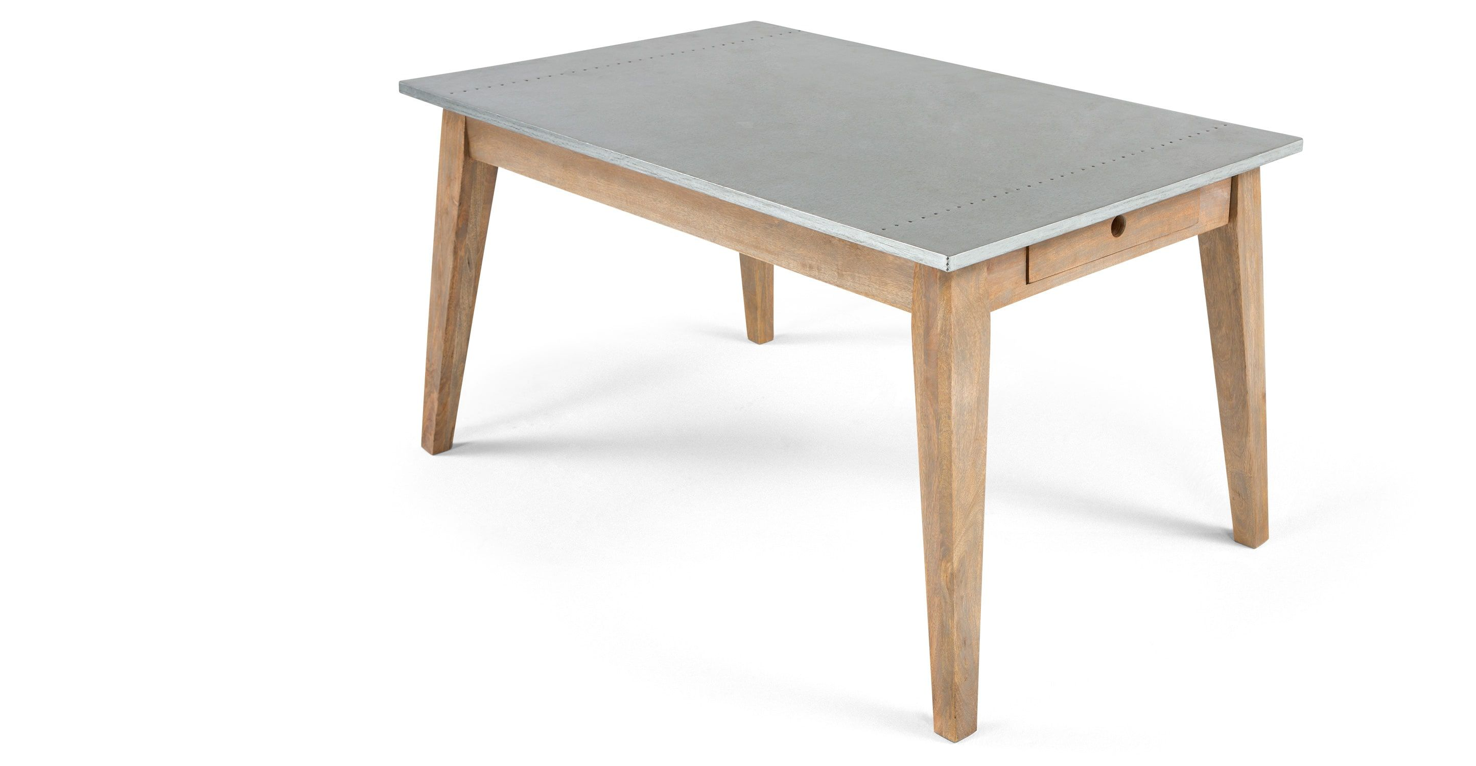 Fawn Dining Table Zinc