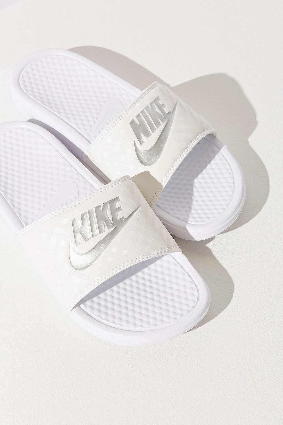 new style 3fd73 16df5 Nike Benassi JDI Slide  UrbanOutfitters