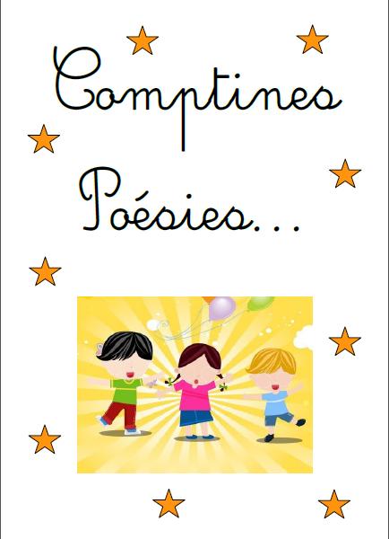 Classeur De Comptines Poesies Et Comptines Illustrees Comptines
