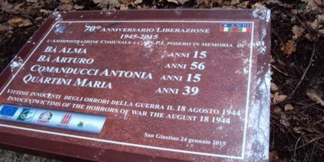 Giorno della Memoria a San Giustino - Notizie da Città di Castello, Umbertide, San Giustino, Montone, Citerna