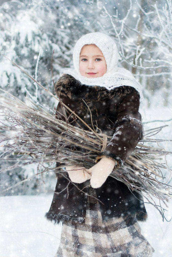 Ирина Лебедь | Фотография маленькой девочки, Зимние ...
