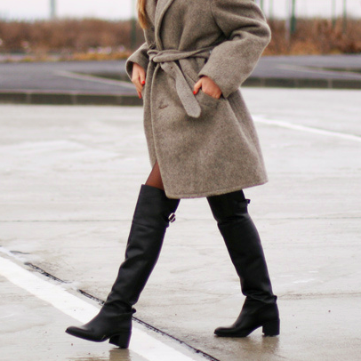 HOW TO STYLE: THIGH HIGH BOOTS http://www.couturesquemag.com/2015/02/how-to-wear-over-knee-boots.html