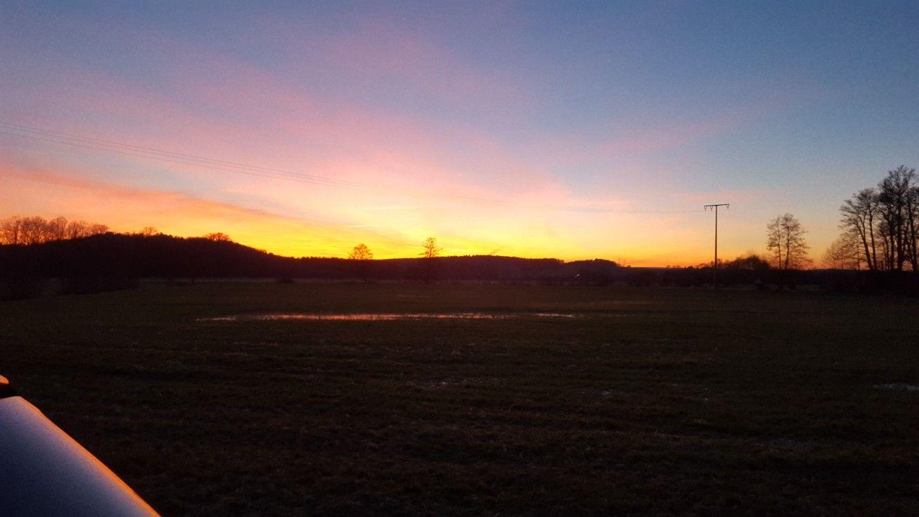 #Sonnenuntergang #Bayern #Bavaria