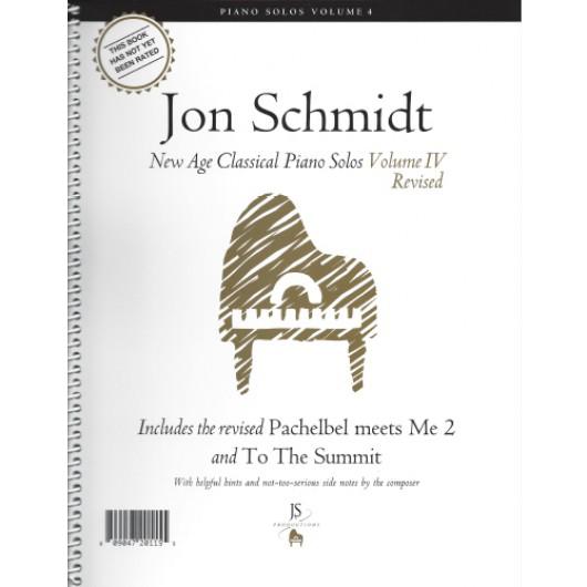 Jon Schmidt Piano Solos Vol 4 Piano Man Sheet Music Book Sheet Music
