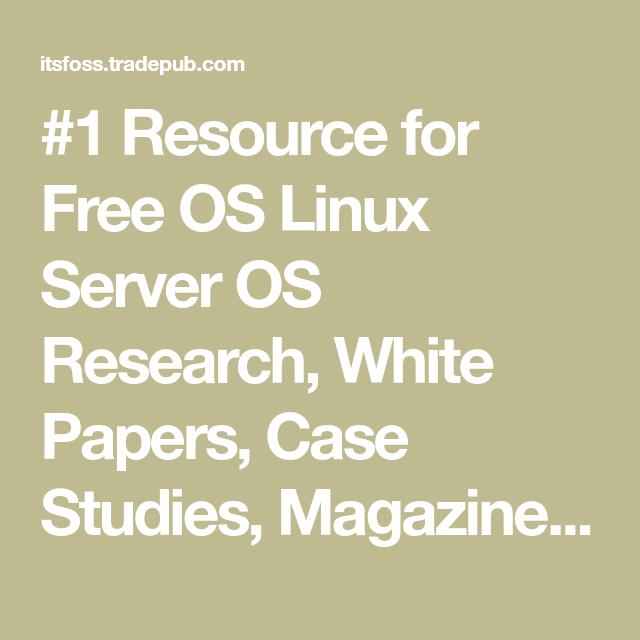 Research paper on linux