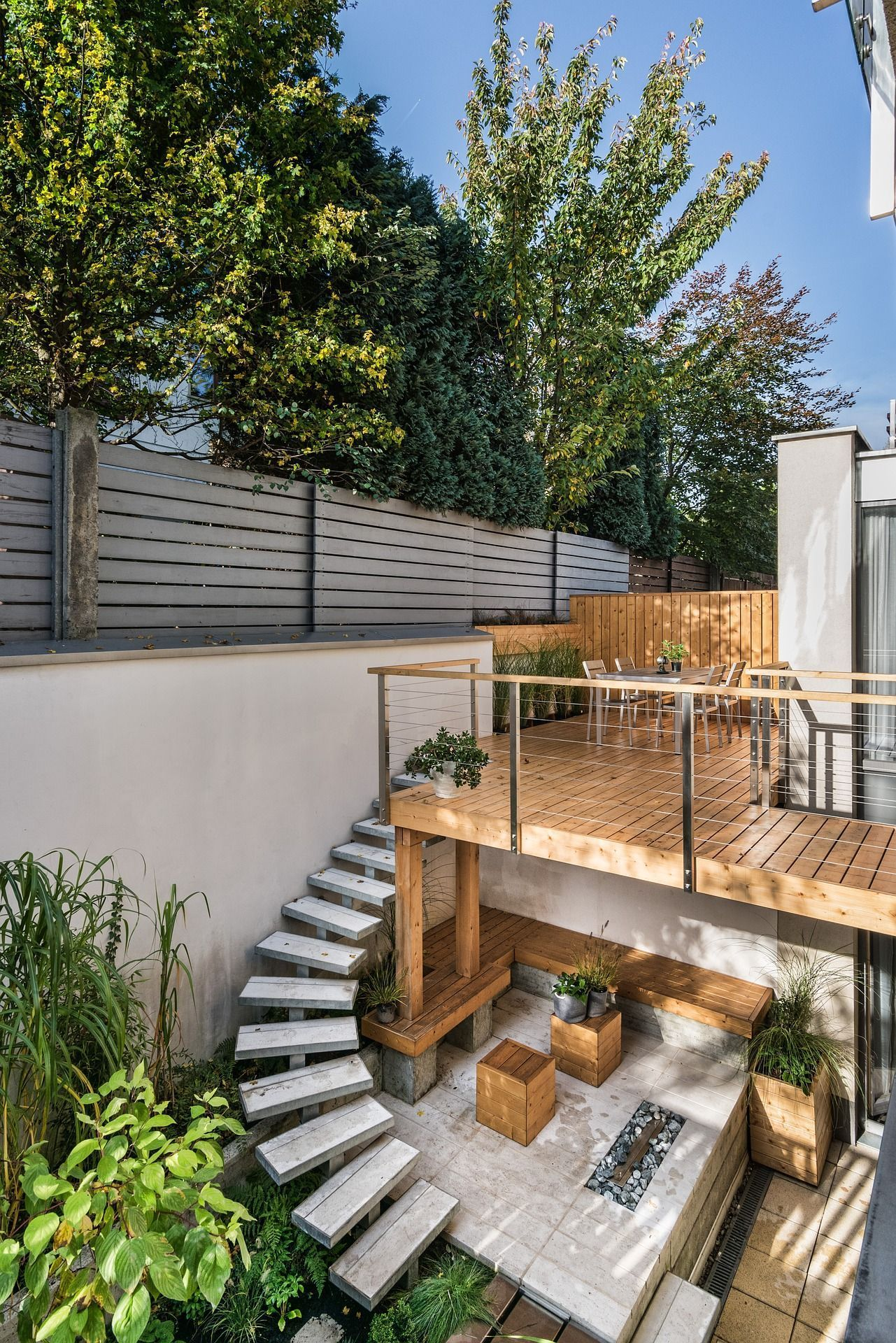 Beautify Your Outdoor Space With Some Stunning Courtyard Landscaping Small Patio Garden Small Backyard Backyard