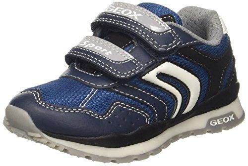 Geox J Pavel B, Zapatillas para Niños, Azul, 27 EU
