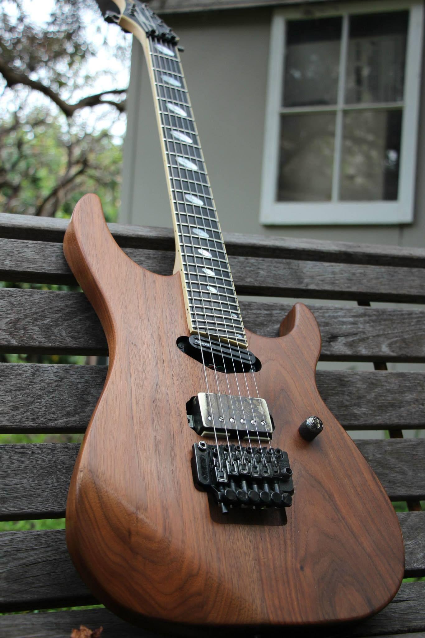 caparison horus hgs oiled walnut guitars guitar string quartet music instruments. Black Bedroom Furniture Sets. Home Design Ideas