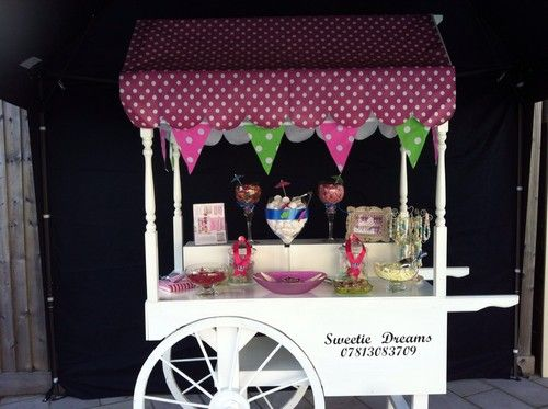 Candy Cart Sweet Trolley