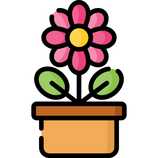Flower Pot Free Vector Icons Designed By Freepik Flower Icons Vector Icon Design Free Icons