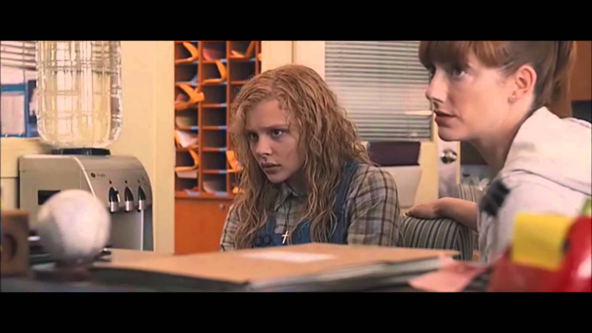 """""""Carrie"""" (2013) CLIP: Carrie in the Principal's Office ..."""