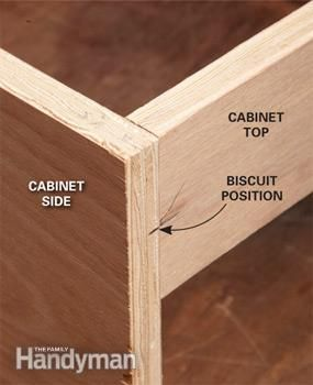 How To Make A Biscuit Joint Carpentry Joinery Wood Working For