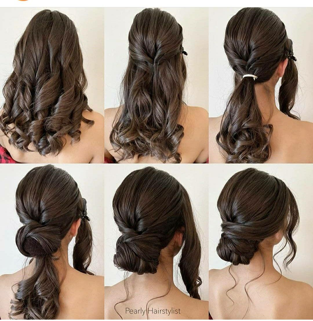 Pin By Beauty Tips Home Remedies Mak On Trendy Hairstyles Long Hair Styles Hair Styles Easy Hairstyles For Long Hair