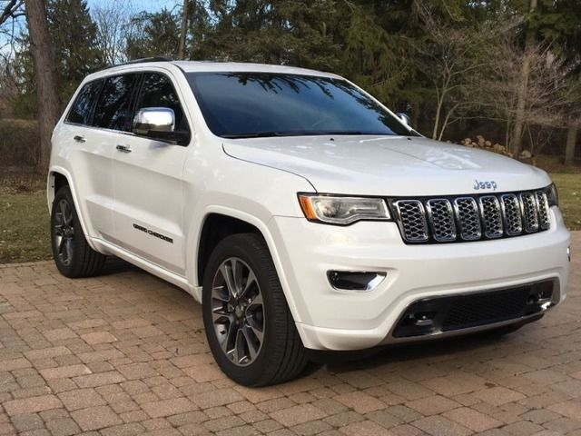 2017 Jeep Grand Cherokee Overland 2017 Jeep Grand Cherokee