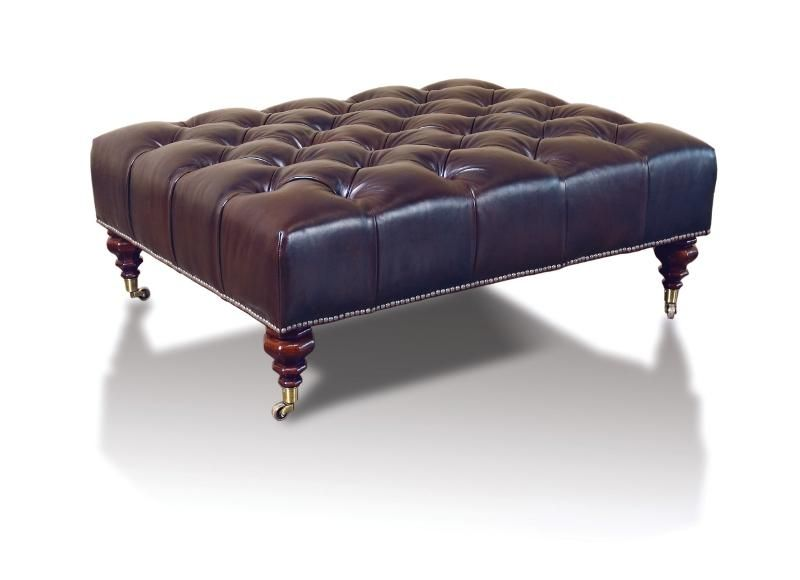 Ralph Lauren Mitchell Place Tufted Ottoman For The Home
