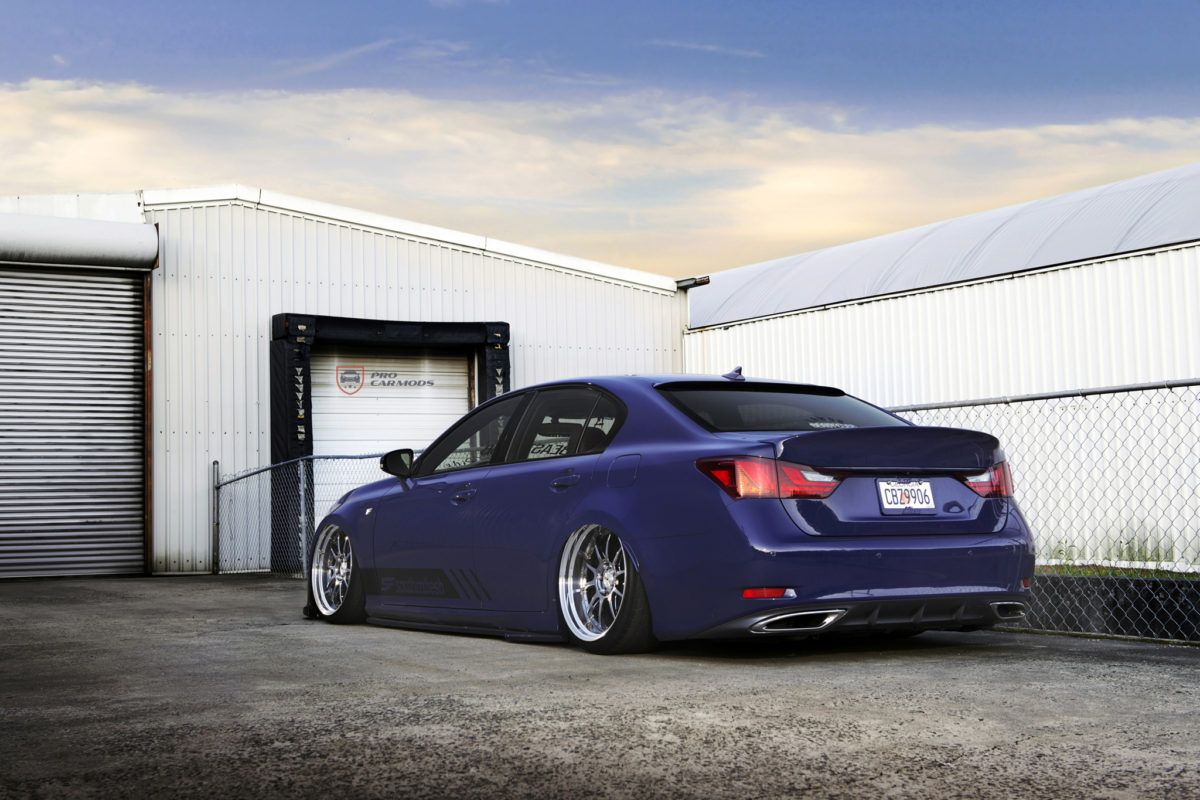 Bagged and Clean Lexus GS350 F Sport ProCarMods My