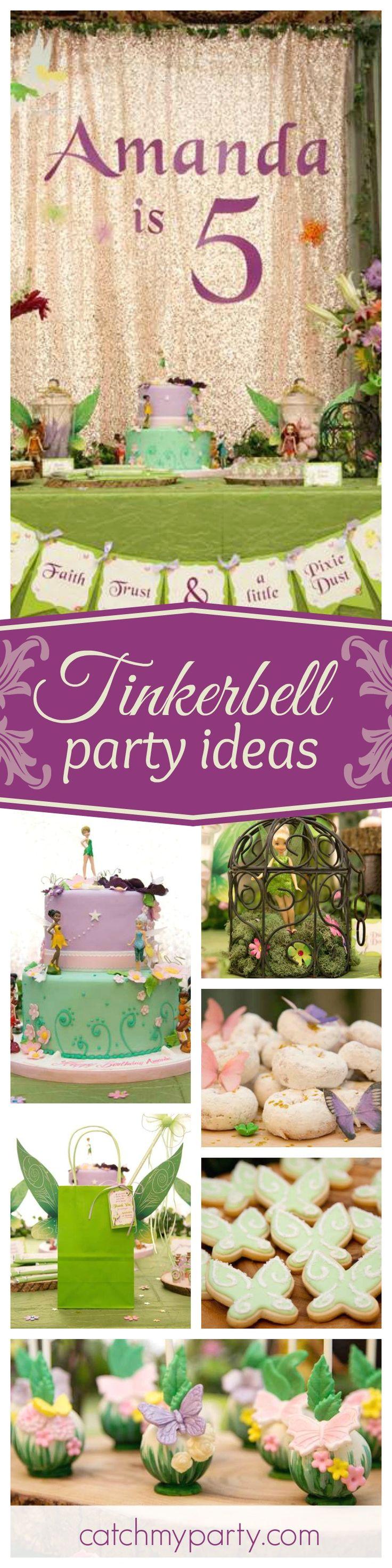 Tinkerbell Birthday Tinkerbell birthday party