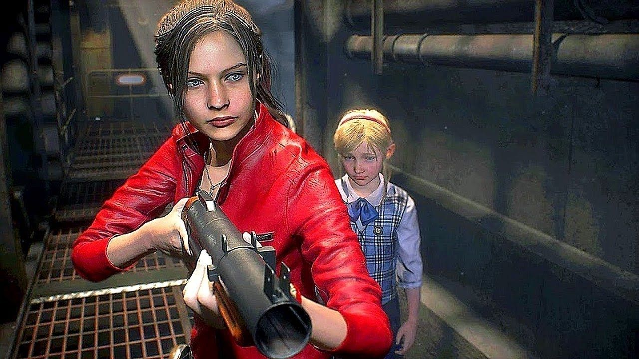 RESIDENT EVIL 2 REMAKE - Claire Gameplay Walkthrough (TGS