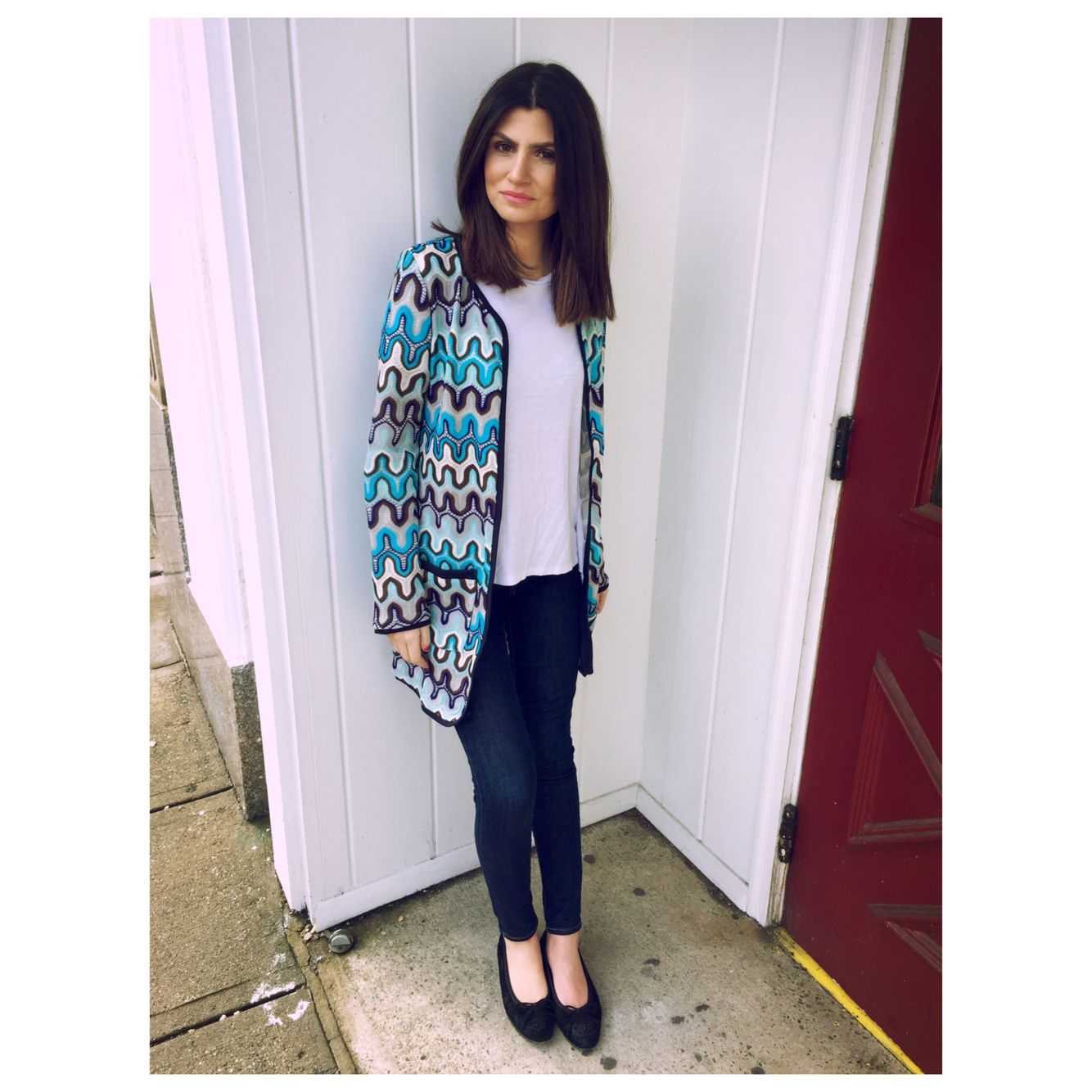 shop our missoni inspired cardigan
