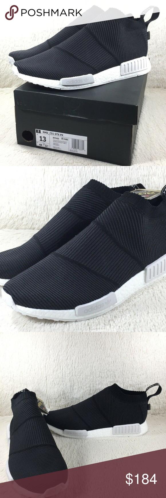 NIB Adidas NMD CS1 GTX Shoes Mens Black Size 13 NIB Adidas