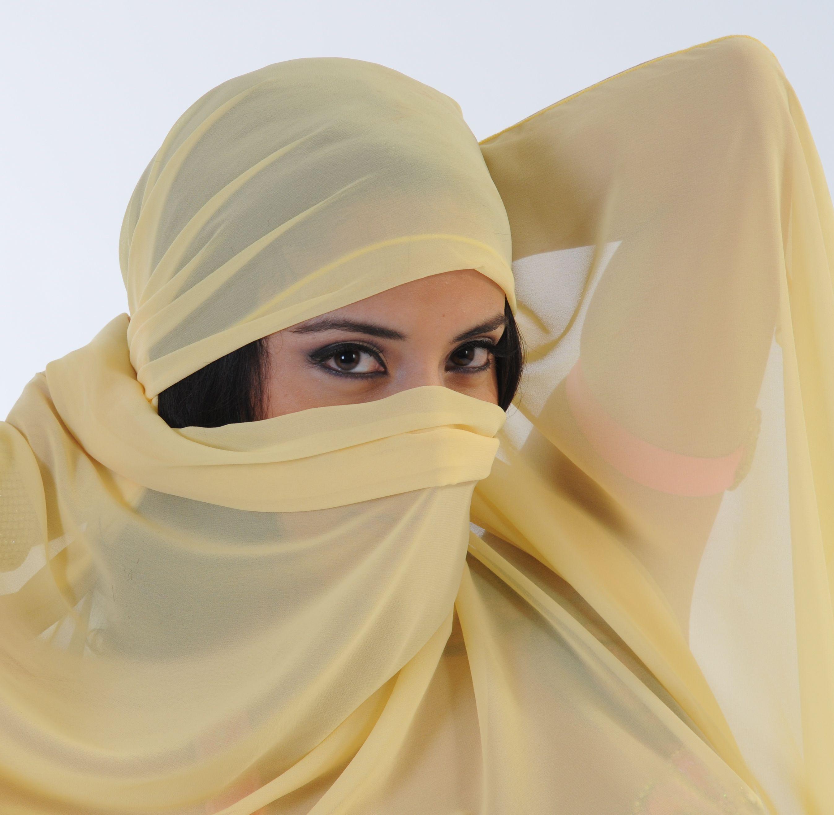 Desert Beauty, Abstract, Arab Woman, Beautiful, Blue