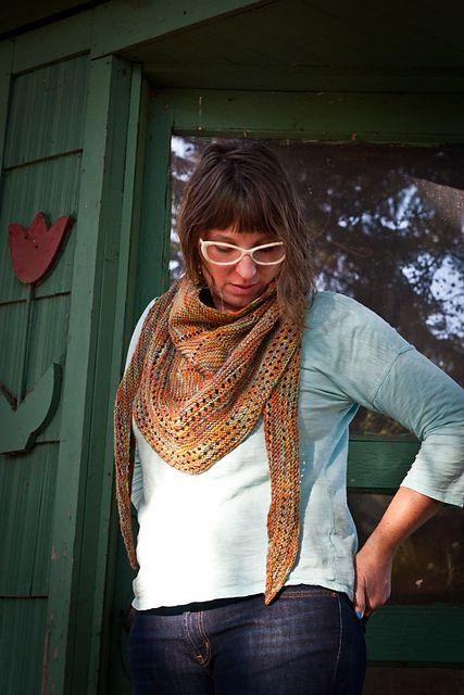 Bridges Shawl pattern by Shannon Squire