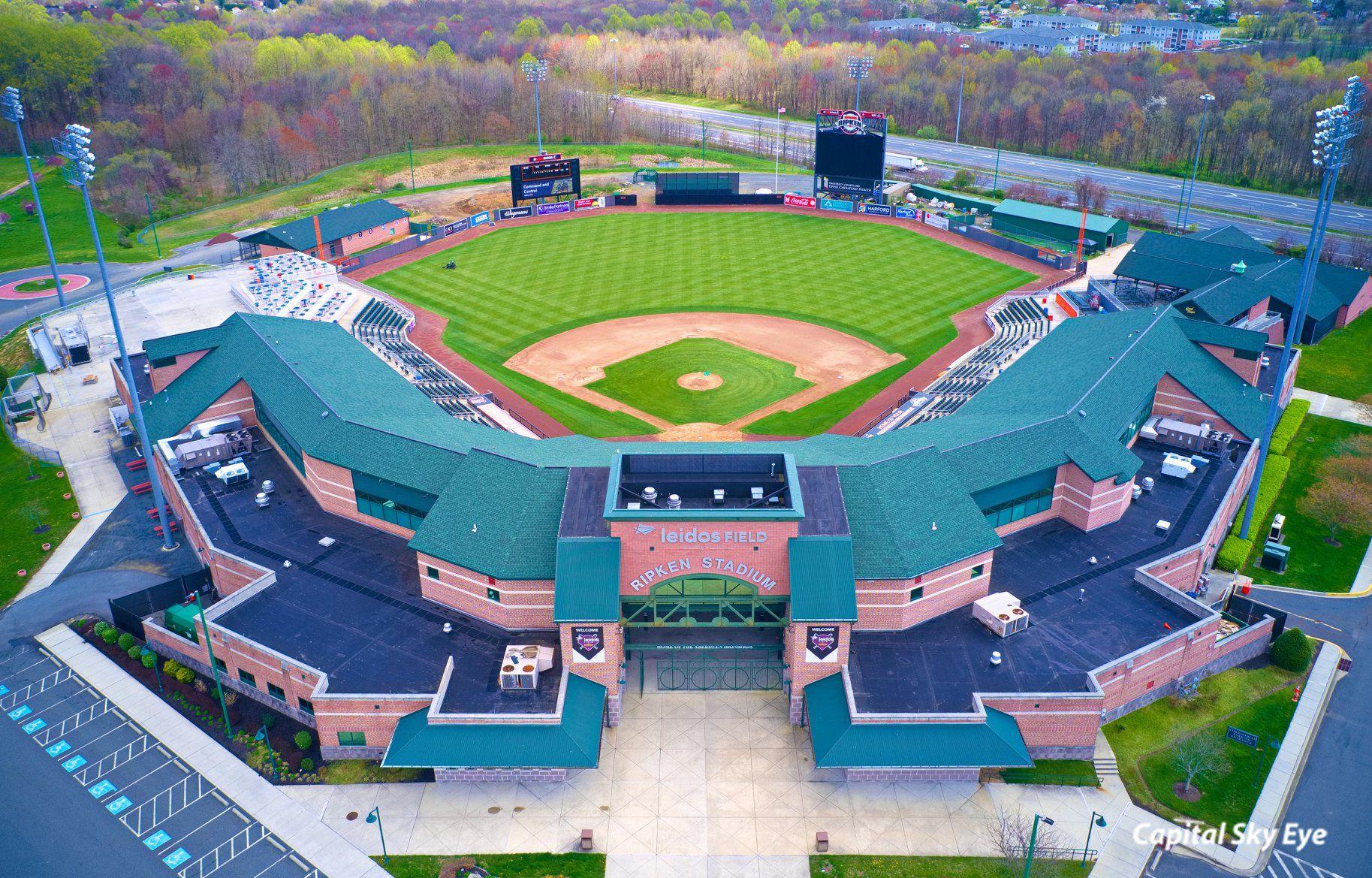 Harford County Maryland Aberdeen Cal Ripken Baseball Stadium In 2020 Aberdeen Maryland Baseball Stadium Harford County