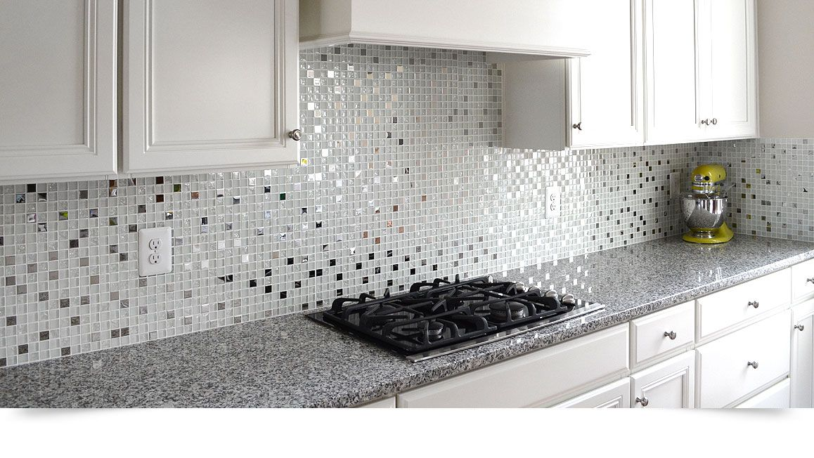 White Cabinet New Caledonia Gray Granite Countertop Gl Backsplash Tile