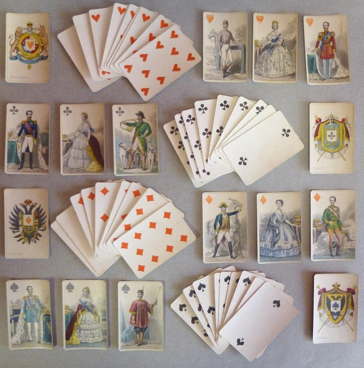 * cartes impériales et royales 3e quart 19e siècle GRIMAUD