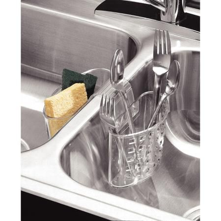 Home With Images Flatware Organizer Sink Protector Interdesign