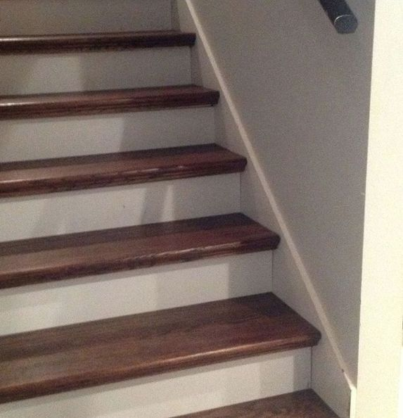 From Carpet To Wood Stairs Redo (Cheater Version)