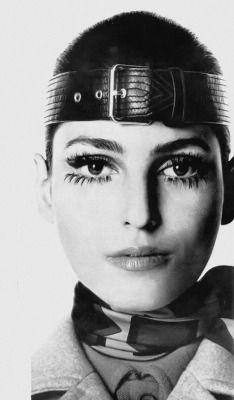 Benedetta Barzini by Irving Penn _ Vogue, September 1968.