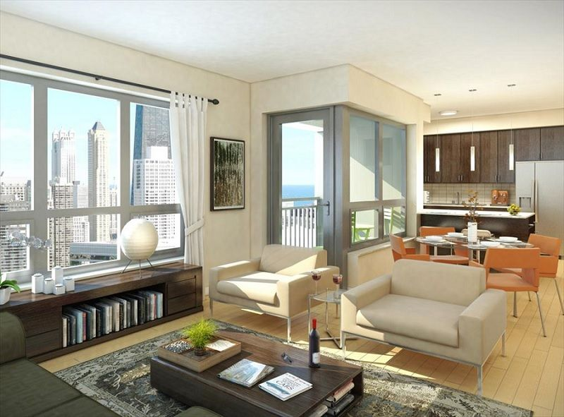 Amli River North The Ultimate In Chicago Luxury Living Apartment Interior Living Downtown Apartment Chicago Apartment
