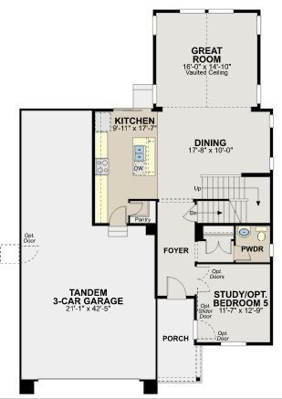 Ryland Homes The Vista Plan Ryland Homes Floor Plans House Floor Plans