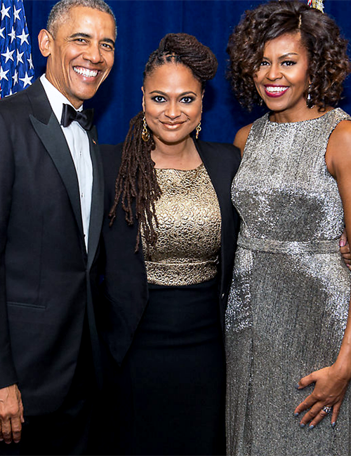 Image result for ava duvernay and michelle obama