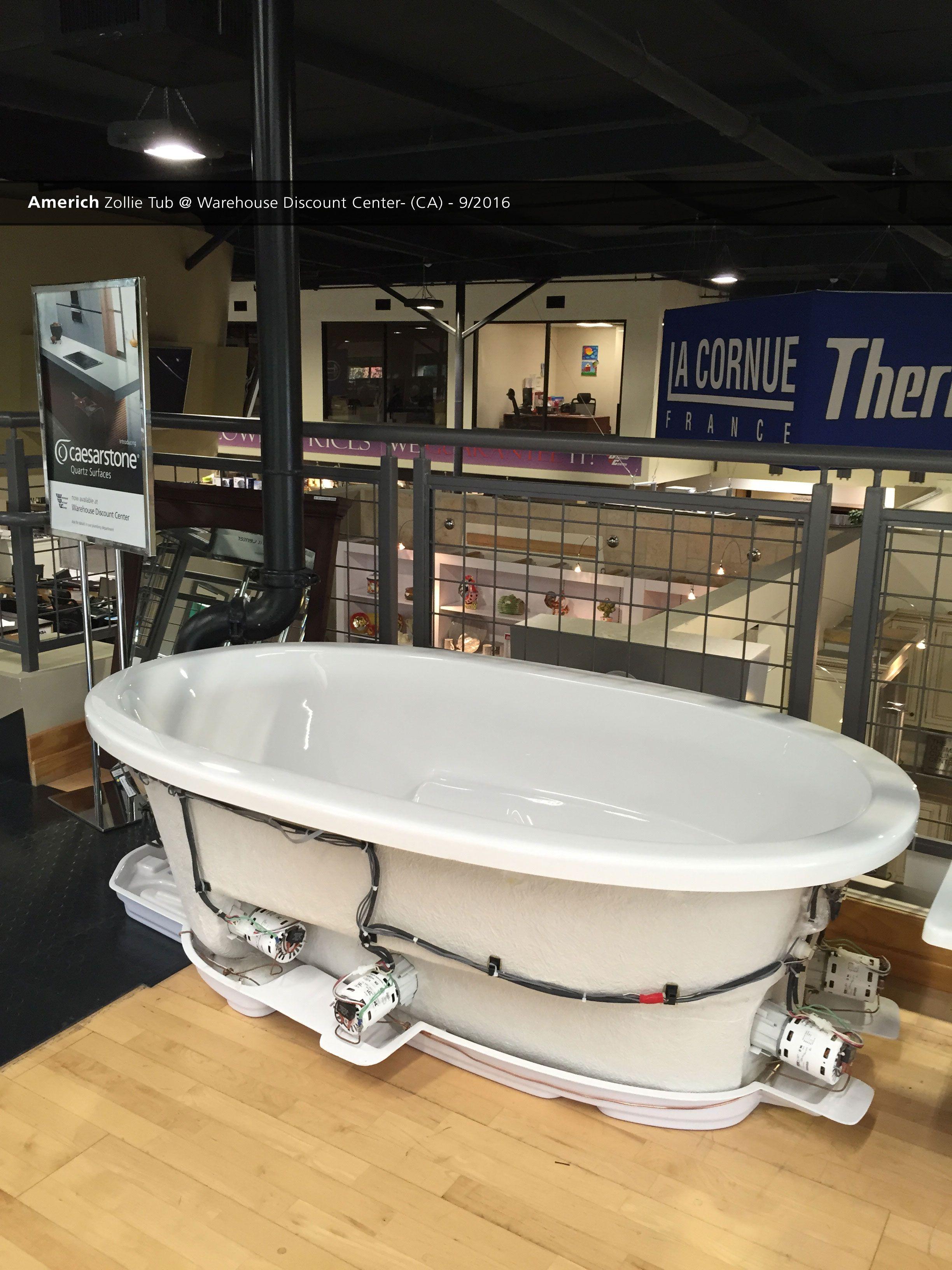 Americh Zollie Tub @ Warehouse Discount Center- (CA) - 9/2016 ...
