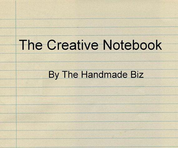 The Creative Notebook a Bookkeeping Spreadsheet by TheHandmadeBiz