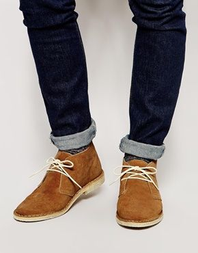21f3f44d351e7 ASOS Desert Boots in Suede   Stuff to Buy   Pinterest   Chaussure ...