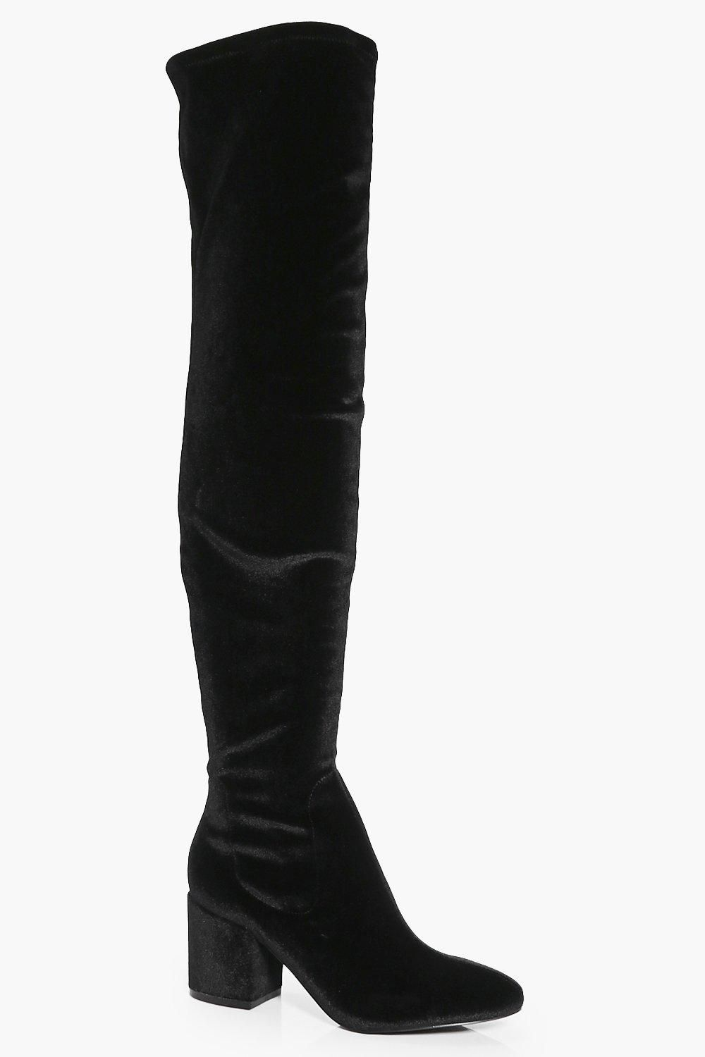 d00bf82ceb Alexandra Low Block Heel Over The Knee Boot in 2019 | Spring clothes ...