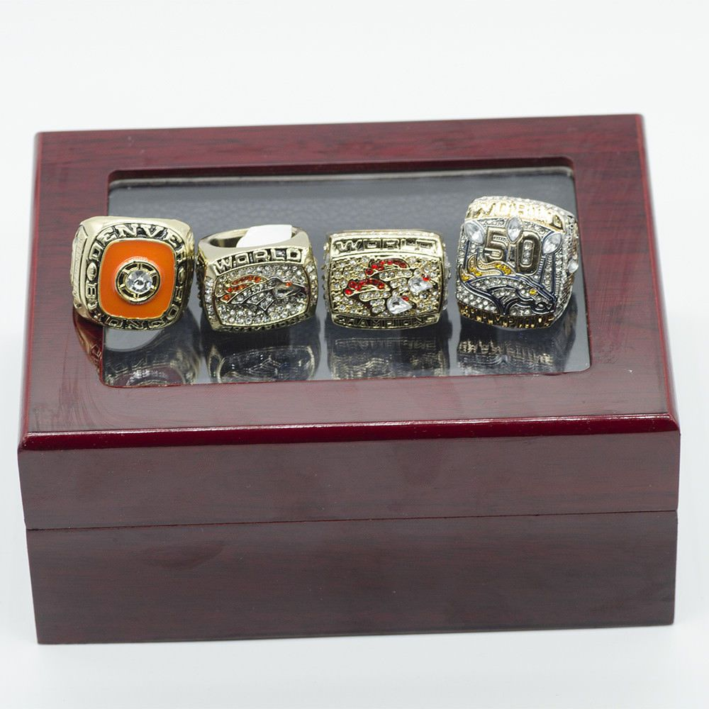 Denver broncos football jewelry world chamionship team
