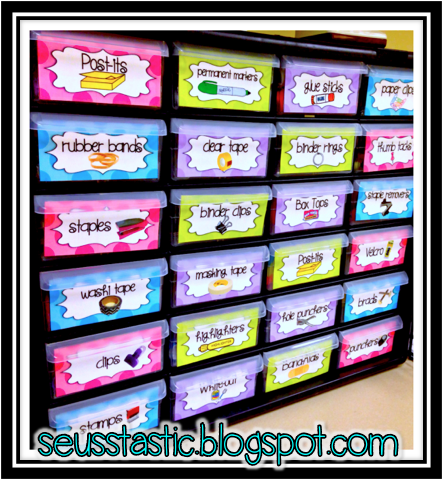 I Am In Love With My Teacher Toolbox I Got The Labels From My Friend Erica Bohrer From Erica S Teaching Organization Classroom Reveal Classroom Organisation