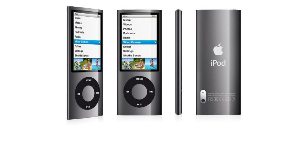 New Apple Ipod Nano 5th Generation 8gb 16gb Click-wheel Radio Assorted Colors