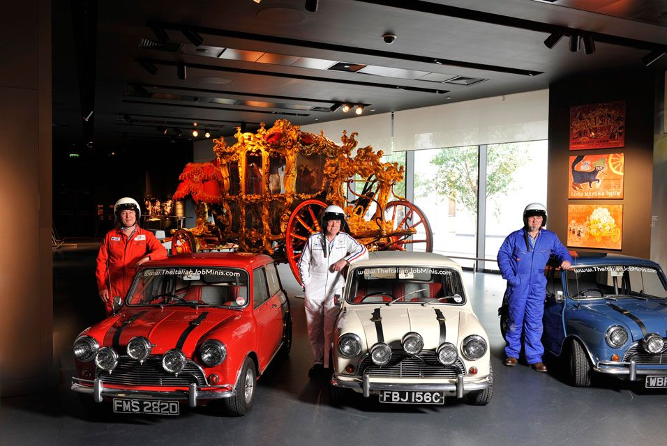 I want an old mini cooper so bad it hurts london museums