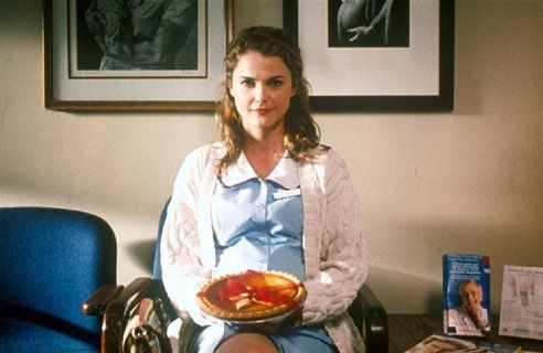 """Falling in Love Pie: Naughty Pumpkin Pie from the movie """"The Waitress"""""""