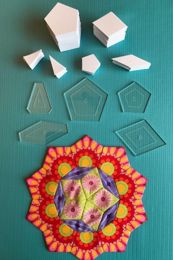 La Passacaglia Quilt Kit | Patchwork und Quilten, Vorsätze und Patchwork